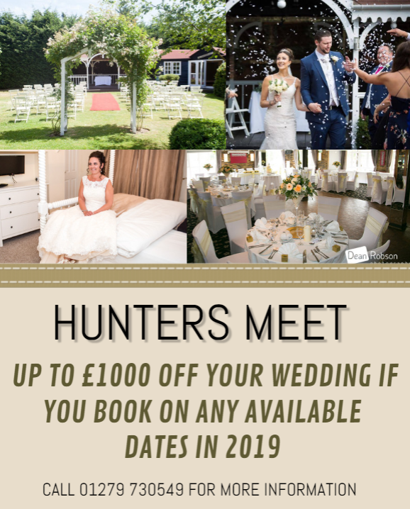 £1000 OFF WEDDINGS  FOR 2019