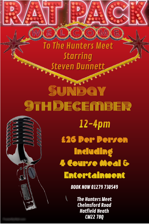 SUNDAY 9TH DECEMBER
